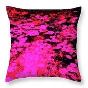 Lilypad 13 2 Throw Pillow