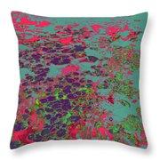 Lilypad 13 9 Throw Pillow