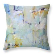 Lilypad Pond Throw Pillow
