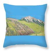 Lime Creek Canyon Throw Pillow