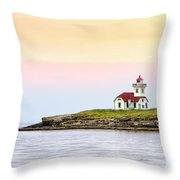 Lime Kiln II Throw Pillow