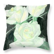 Lime Sublime Throw Pillow