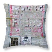 Lime Valley Mills Throw Pillow