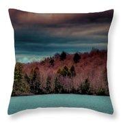 Limekiln Lake Throw Pillow