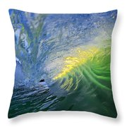 Limelight Throw Pillow by Sean Davey
