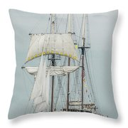 Limited Sails Throw Pillow