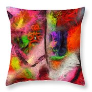 Limitless Freedom Throw Pillow