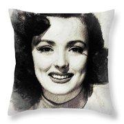 Lina Romay Throw Pillow