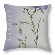Linacea Throw Pillow