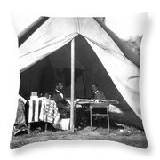 Lincoln & Mcclellan Throw Pillow
