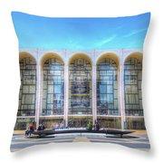 Lincoln Center Throw Pillow