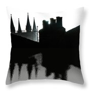 Lincoln Chimneys Throw Pillow