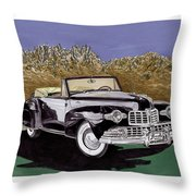 Lincoln Continental Mk I Throw Pillow