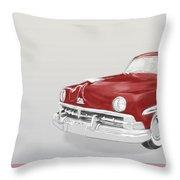 Lincoln Cosmopolitan Sedan Throw Pillow