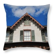 Lincoln Cottage Throw Pillow