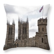 Lincoln Throw Pillow by Joanna Madloch