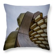 Abstract Of Peoples Gas Pavillon Throw Pillow
