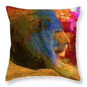 Lincoln Park Lion Throw Pillow