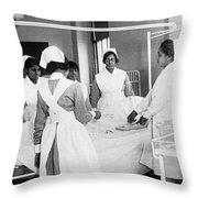 Lincoln School For Nurses Throw Pillow