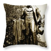 Lincoln Square Throw Pillow