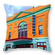 Lincoln Theatre - Dc Throw Pillow