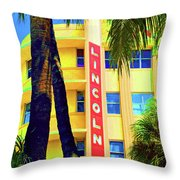 Lincoln Theatre - Sobe Throw Pillow