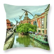 Lincoln Waterside  Throw Pillow