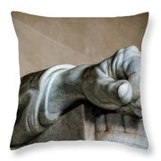 Lincoln's Left Hand Throw Pillow