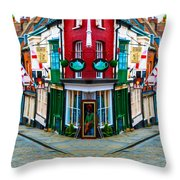 Lincoln's Steep Hill Throw Pillow