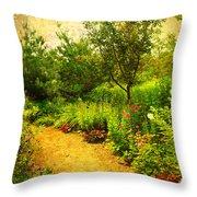 Linden Gardens 2 Throw Pillow
