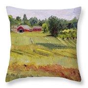Linden Row Farm Throw Pillow