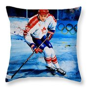 Lindros Throw Pillow by Hanne Lore Koehler