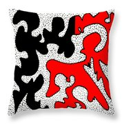 Lindy Throw Pillow by Eikoni Images