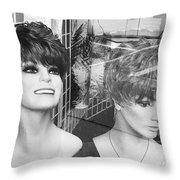Line Art Throw Pillow