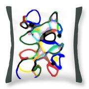 Line Design Creative Throw Pillow