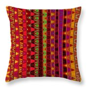 Line Waves Throw Pillow