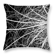 Linear Abstract 2 Throw Pillow