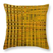 Linear Ripples 278 Throw Pillow