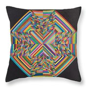 Linear Supersymmetry Throw Pillow