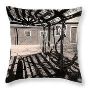 Linear View Throw Pillow