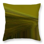 Lined Abstract  Throw Pillow