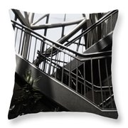 Lined Stairway - 200340 Throw Pillow