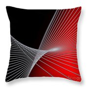 Lines -1- Throw Pillow