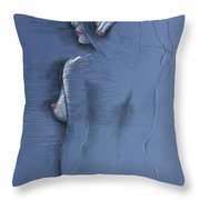 Lines And Curves V Throw Pillow