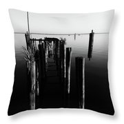 Lines And Shadows Throw Pillow