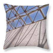 Lines And Shadows IIi Throw Pillow