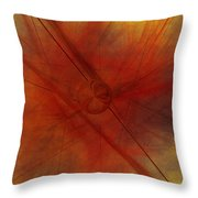 Lines Are Drawn Throw Pillow
