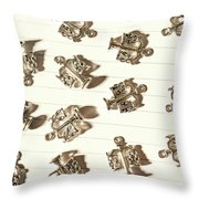 Lines Of Legalities Throw Pillow