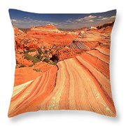 Lines To Magnificence Throw Pillow