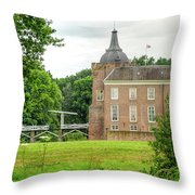 Linge Route Throw Pillow
